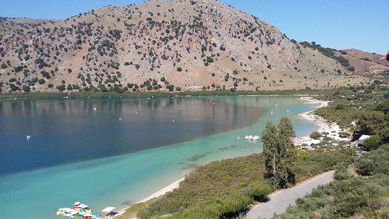 Lake Kournas: il Lago di Kourmàs
