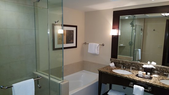 Ameristar Casino Resort Spa Black Hawk: NIce bath area.