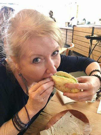Dallas by Chocolate Tours : Dallas' Best Tacos and Margaritas Tour pictures with Rhonda the fabulous tour guide.