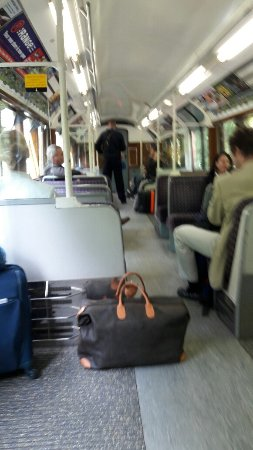 Double delight - a useful train service and fantastic experience all in one.