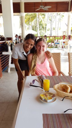 Dreams Palm Beach Punta Cana: Breakfast at the Seaside Grill