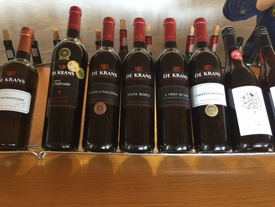 Calitzdorp, South Africa: Wine Selection