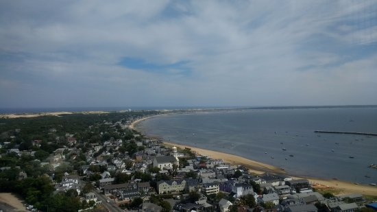 Pilgrim Monument & Provincetown Museum: Looking back down the Cape