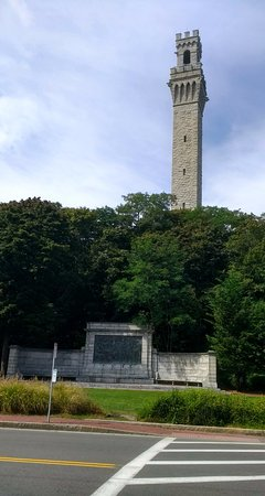 Pilgrim Monument & Provincetown Museum: It's up there...