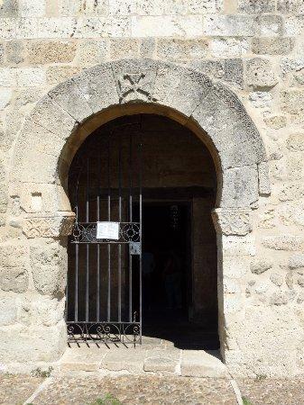Venta de Banos, Spanien: Main enrtance