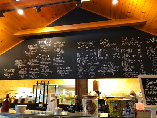 Chardon, OH: menu board