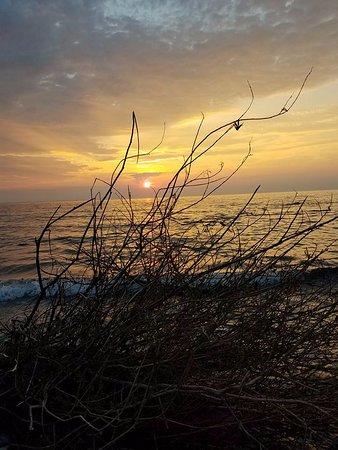 Northport, Μίσιγκαν: Sunset 2nd night.