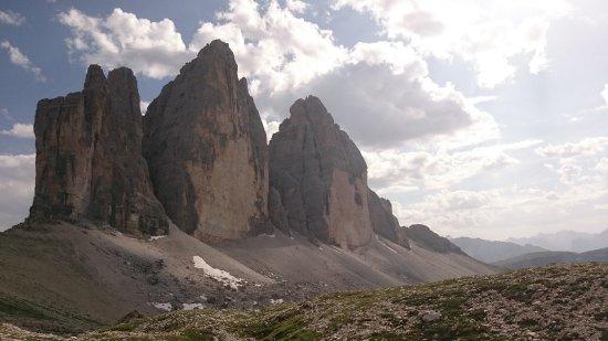 Tre Cime di Lavaredo: 5) Panorama delle tre cime