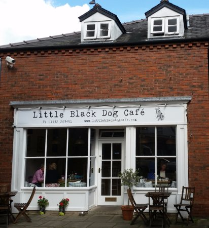 Herefordshire, UK: Little Black Dog Cafe