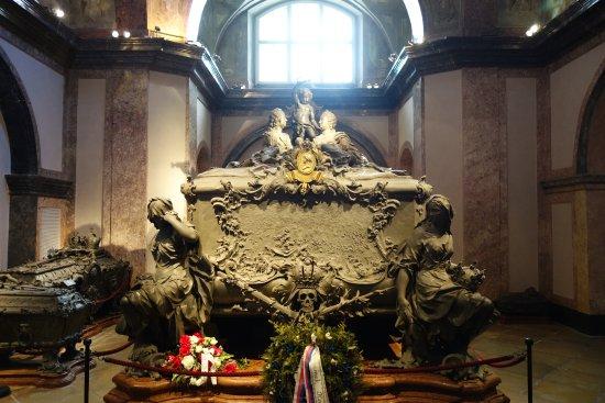Kapuziner Crypt (Kapuzinergruft): Tombe de Marie Thérèse et son époux