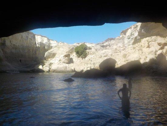Adamas, Grèce : Sykia Caves