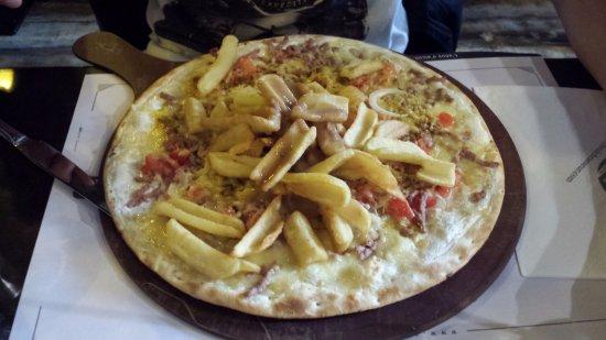 La Valette-du-Var, Frankrike: Flamkuche Chti Frites