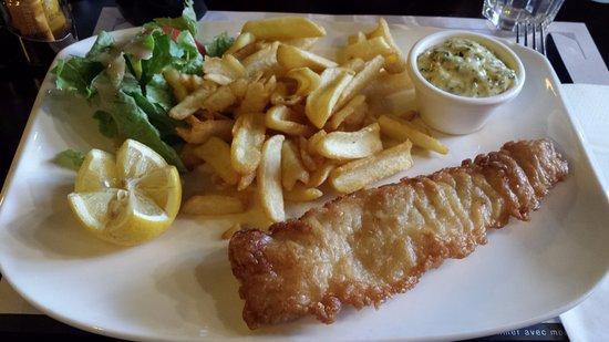 La Valette-du-Var, Frankrike: Fish and chips