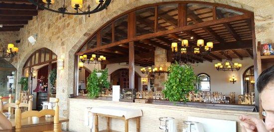 Hapimag Resort Mas Nou: Очень уютный ресторан с прекрасными видами
