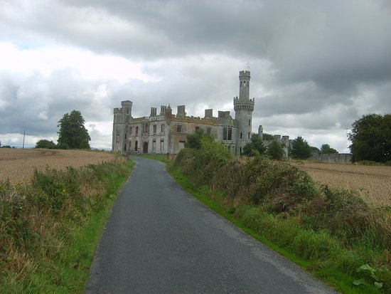 Carlow, Ireland: Looking towards house