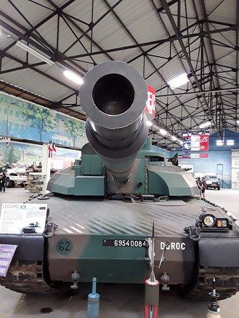 Musée des blindés : char Leclerc