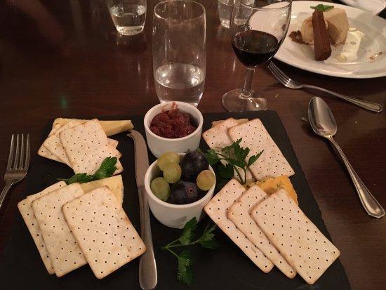 Leintwardine, UK: Cheese board