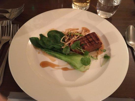 Leintwardine, UK: Salmon starter