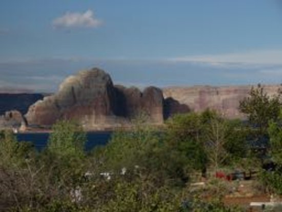 Wahweap Campground: View from loop 2