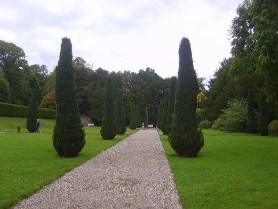 Clonegal, Irland: Italian garden