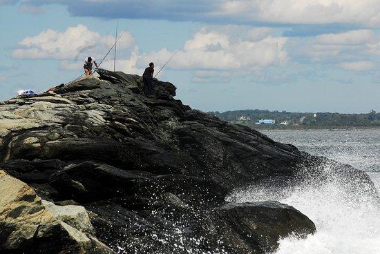 Мидлтаун, Род Айленд: Anglers love Sachuest Point