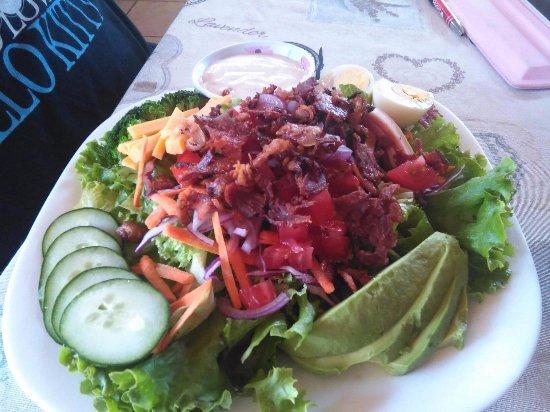 Atenas, Costa Rica: Chef Salad