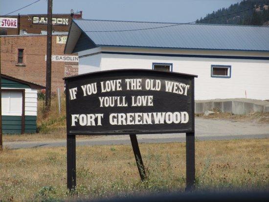 Greenwood, Canada: Signage