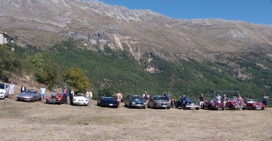 Classic Car Club of Riviera La Vieille Vigne, Cipieres, Fr