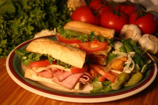 Davis, CA: Sandwiches and burgers too!