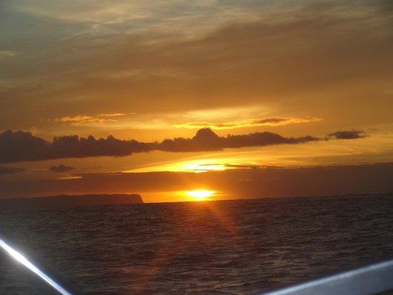 Kekaha, HI: we ended with a beautiful sunset