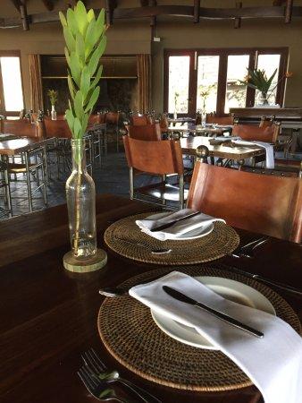 Buffelsdrift Game Lodge Restaurant : Buffelsdrift Restaurant