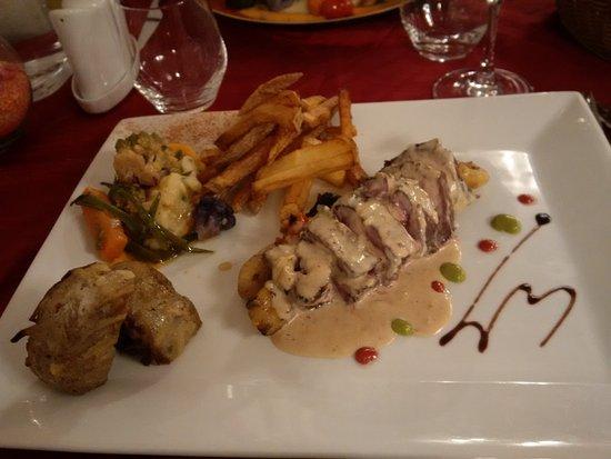 La Farlede, Francja: Onglet de boeuf au fromage de chèvre