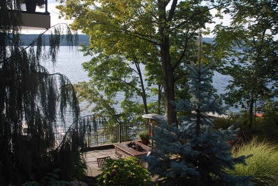 Penn Yan, NY: View from side of house