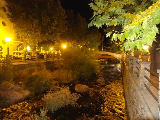 Pinos Genil, Испания: Une soirée magique