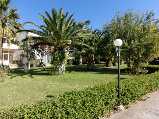 Skala Kallonis, Grécia: Gartenanlage