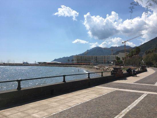 Province of Salerno, Ý: brede promenade