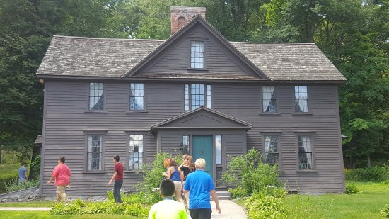 Concord, MA: Orchard House - Louisa May Alcott's home