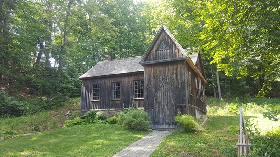 Concord, MA: storage building on Orchard House grounds