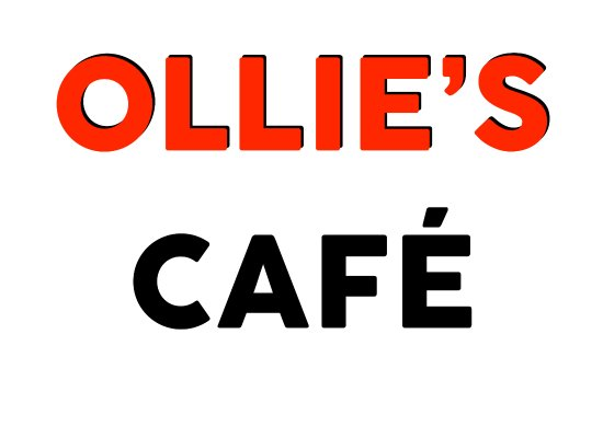 Brent Knoll, UK: Ollie's Cafe Logo