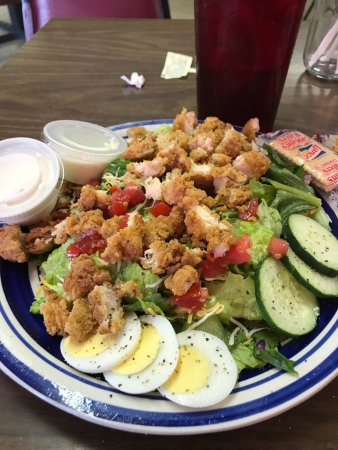 Nocona, TX : Chicken salad. Made fresh each day