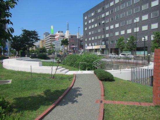 Soseigawa Park : Some installed Art