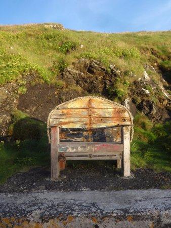 Mullion, UK: Old Bench