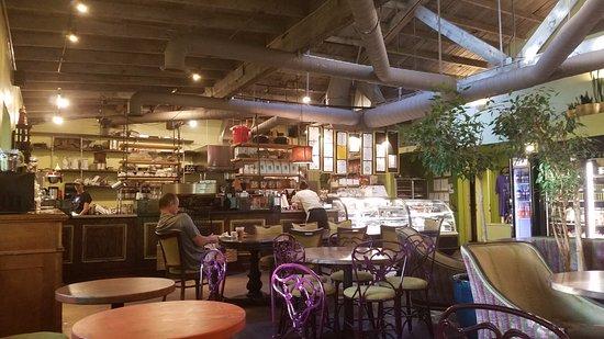 Wild Iris Coffeehouse: The main body of the shop