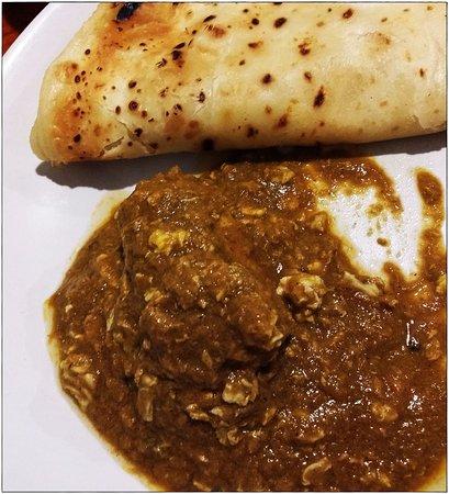Dal Roti : Chicken Moghalai with Kerala porotha