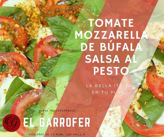 Palleja, Spain: Ensaladas para disfrutar de los contrastes