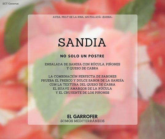Palleja, Spain: La combinación perfecta de sabor y color. Pruébala.