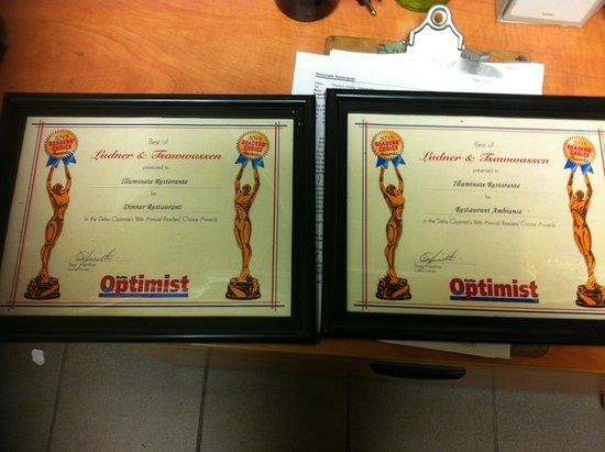 เดลตา, แคนาดา: Award Winner