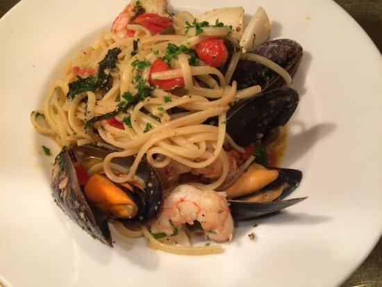 Delta, Canadá: Seafood Linguini