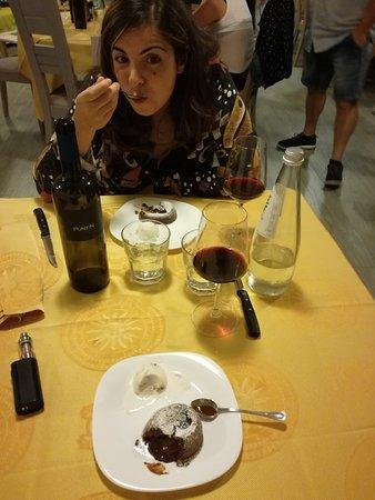 Ploaghe, Itália: Tortino al cioccolato 10 e lode