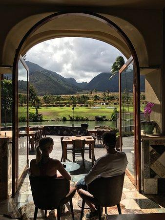 Wailuku, Hawái: Lunch at the Mill House, Maui Tropical Plantation